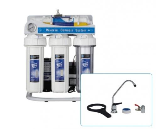 Шестстепенна система за обратна осмоза за монтаж под мивката тип FRO6-РММ