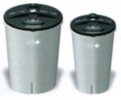 Съдове за приготвяне на солеви разтвор и разтвор на KMnO4