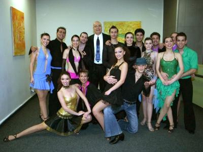 Моника в шоуто на Слави Танцувай с мен 2
