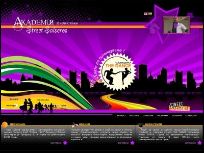Streetsalseros.com - intro