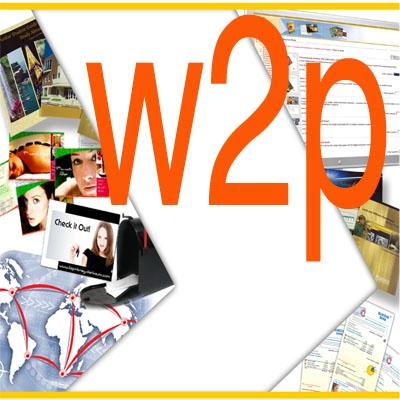 w2p Web To Print печат с променливи данни, брандинг