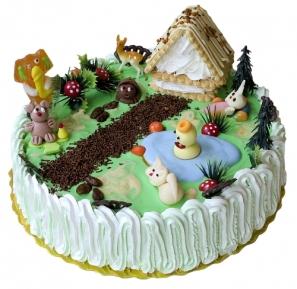 Торта Парти в гората