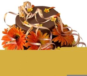 Торта Цветен лукс