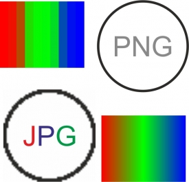 Избор на файлов формат- JPEG, GIF, BMP, TIFF...?
